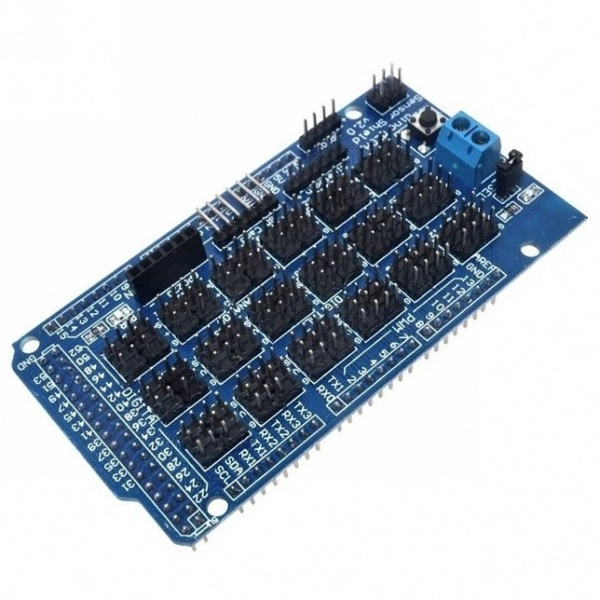 Mega sensor shield для Arduino Mega 2560